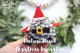 nature based christmas craft nature play wa