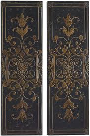 uttermost accessories melani decorative panels s 2