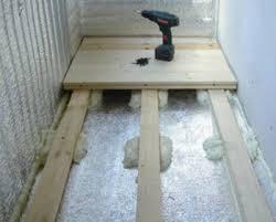 balkon isolieren hoe te isoleren een vloer op het balkon of op het balkon de keuze