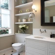 Shelves In Bathrooms Ideas Small Bathroom Shelves Ideas