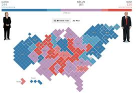 Nytimes Election Map by 2016 U S Elections 50 Interactive Visualizations To Explore