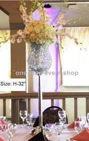 Tall Table Centerpieces by Transparent Cylinder Glass Vase Tall Flower Decoration 123 Vase
