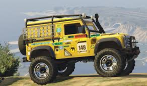 land rover yellow land rover defender 90 add on replace gta5 mods com