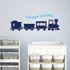 train wall decals promotion shop for promotional train wall decals train wall sticker baby nursery train wall decal cut vinyl sticker diy easy children room decors n30