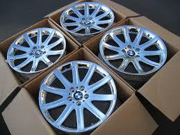 lexus chrome wheels ca brand new 19x9 19x10 chrome bmw style 95 u0027s redrilled to 5x114 3