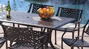 9 Pc Patio Dining Set - tahoe outdoor dining set youtube