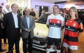 peugeot manufacturer flamengo peugeot shirt sponsor deal unveiled footy headlines