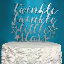 twinkle twinkle cake topper cake topper babies cake topper birthday cake