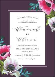 invitations wedding wedding invitations match your color style free
