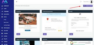 how to design email template maaxmarket knowledge base
