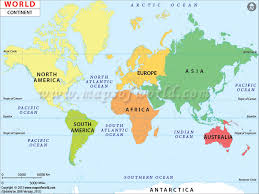 map of th world map world continents major tourist attractions maps