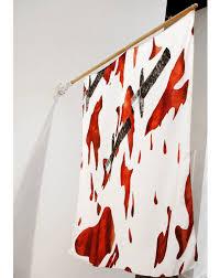 Blood Shower Curtain Blood Banner U2014 Ko