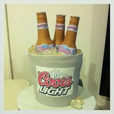 coors light gift ideas coors light beer bucket cakecentral com