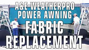how to replace a u0026e dometic weatherpro rv patio awning fabric