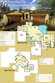 Garage Plans With Living Space 1090 Best Home Plans Images On Pinterest House Floor Plans