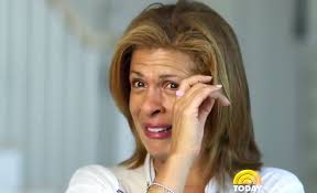 what does hoda kotb use on her hair hoda kotb cries when talking about daughter haley joy people com