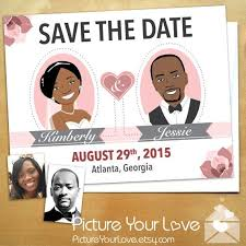 custom save the dates 62 best creatively illustrated wedding invitations and