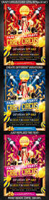 crazy circus party flyer party flyer circus party and flyer