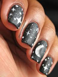 moon design nails choice image nail art designs