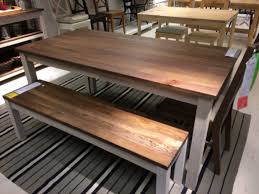 bench and kitchen table ikea kejsarkrona ikea pinterest