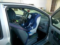 siege auto a l avant un siège auto pour twingo place avant
