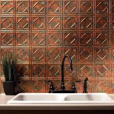 Copper Backsplash Tiles For Kitchen Copper Tile Backsplash Ideas For Kitchen Cdbossington Interior