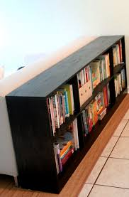 Making Wooden Bookshelves by 25 Best Bookcase Behind Sofa Ideas On Pinterest Room Divider