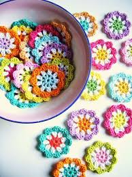 Crochet Designs Flowers 792 Best Crochet Flowers Motifs Images On Pinterest Crocheted