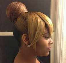 natural hair bun styles with bang hair steamers for natural hair the secret is out bang