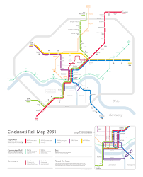 Vre Map Cincinnati Rail Map 2031 U2014 Michael Tyznik