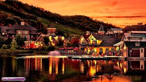 relaxing celtic music village on the water ambient celtic