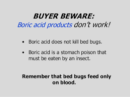 boric acid for bed bugs dealing w bed bugs