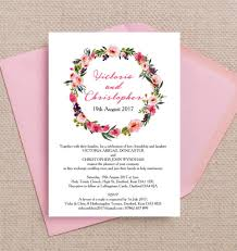 wedding invitations kent top 8 printable floral wedding invitations