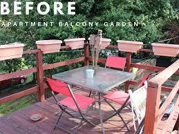 diy apartment balcony garden let u0027s share a dish