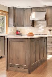 gray brown stained kitchen cabinets alder gray stained cabinetry custom kitchen remodel