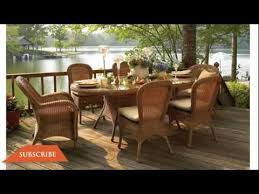 wicker patio furniture plastic patio furniture youtube