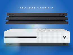 xbox one to home theater ps4 pro vs xbox one s vs project scorpio stuff