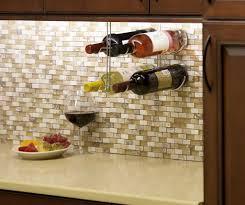 20 ways to under cabinet wine rack