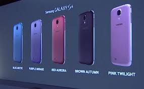different colors of purple samsung galaxy s4 now available in seven different colours