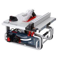 Bench Table Bosch 15 Amp Corded 10 In Worksite Portable Bench Table Saw With