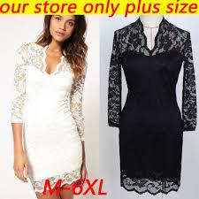 women summer lace dress long sleeve white and back chiffon lining