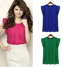 womens blouses for work fashion womens blouses chiffon clothing summer tulip
