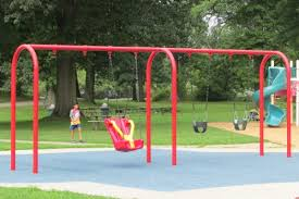 handicap swing soar playground stow ohio silver springs park