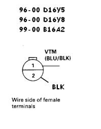 92 00 honda acura engine wiring sensor u0026 connector guide honda