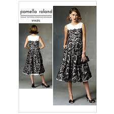 dress pattern john lewis buy vogue women s pamella roland dress sewing pattern 1425 online at