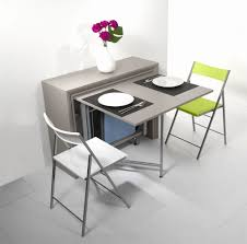 table escamotable dans meuble de cuisine meuble table cuisine unique table pliante archi grey table pliante