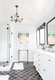 How To Paint Ceramic Tile In Bathroom Best 25 Painting Tile Floors Ideas On Pinterest Painting Tile