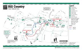 Texas State Parks Map Backpacking Trips Mark Burmeister Dot Com
