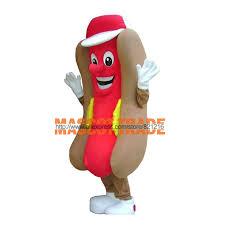 Hotdog Halloween Costume Buy Wholesale Dog Mascot Costume China