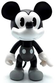 artoys mickey fancy black white 8